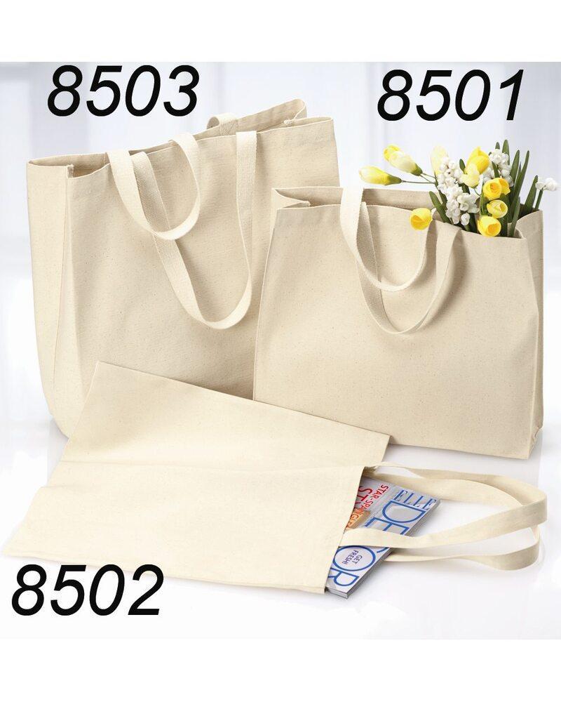 Liberty Bags 8503 - Bolsa de lona de algodón de 12 onzas