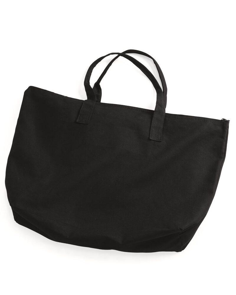 Liberty Bags 8863 - Bolsa de lona de 10 onzas con cierre superior