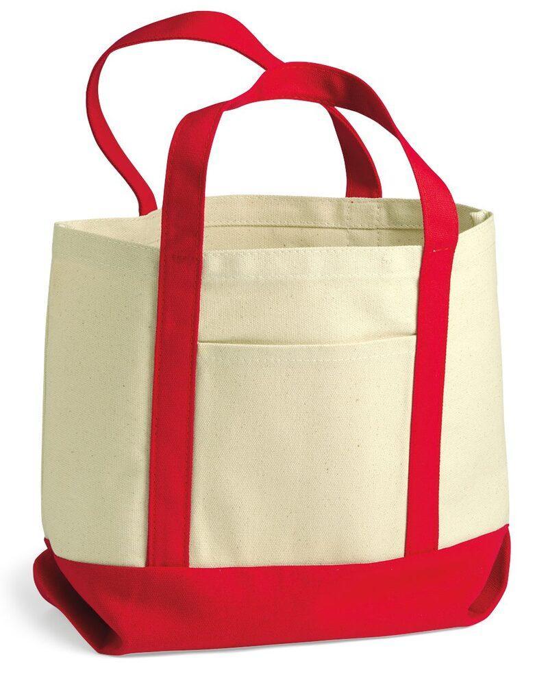 Liberty Bags 8867 - Bolsa pequeña de lona de algodón Seaside