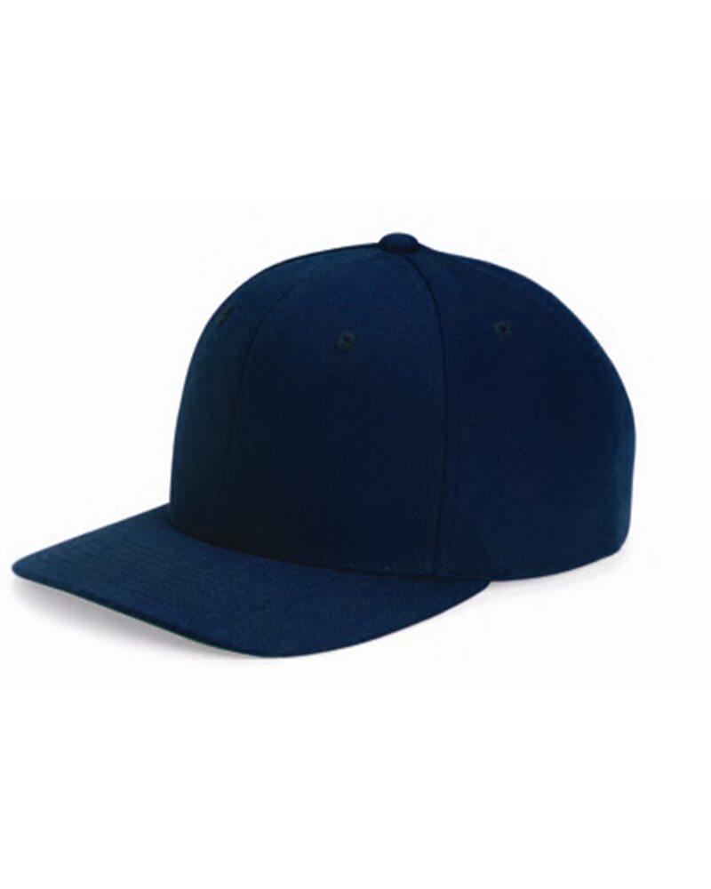 Yupoong 6089M - Wool Blend Flat Bill Snapback Cap