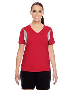 Team 365 TT10W - Ladies Short-Sleeve V-Neck All Sport Jersey