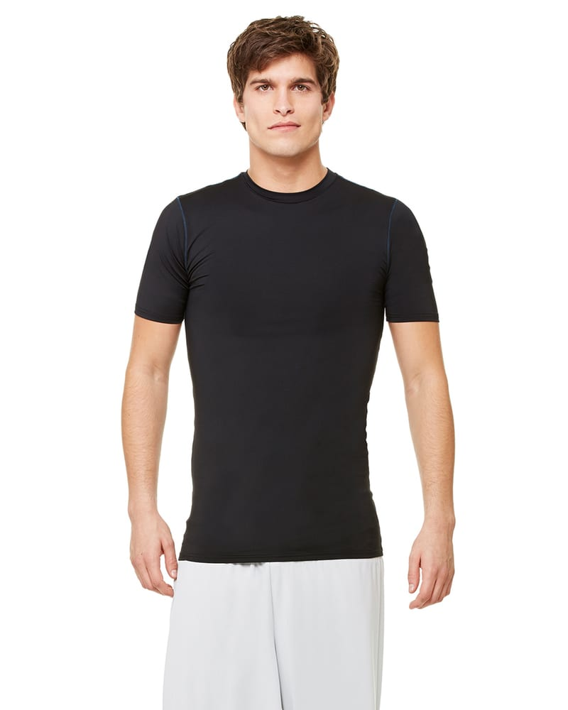 All Sport M1007 - for Team 365 Men's Compression Short-Sleeve T-Shirt