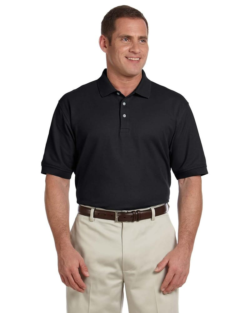 Devon & Jones D100T - Men's Tall Pima Piqué Short-Sleeve Polo
