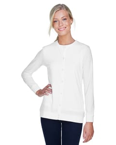 Devon & Jones DP181W - Perfect Fit™ Ladies Ribbon Cardigan