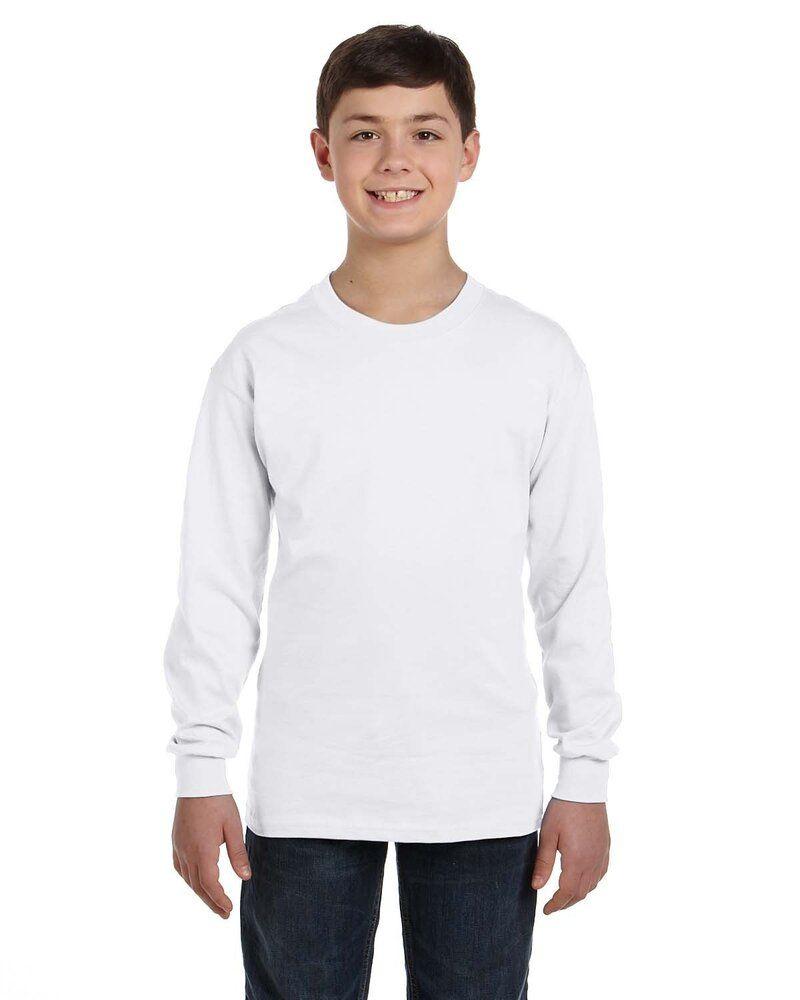 Gildan G540B - Wholesale Youth 5.3 oz. Long-Sleeve T-Shirt