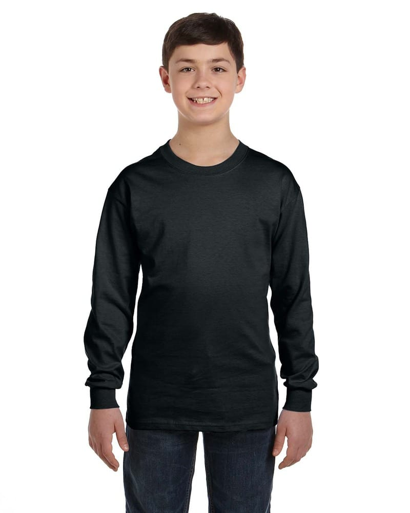 Gildan G540B - T-Shirt Wholesale Youth 5.3 Oz. à manches longues