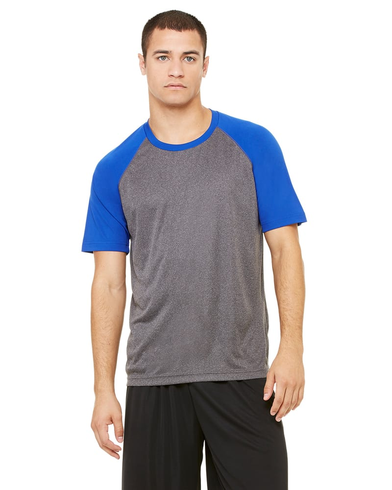 All Sport M1029 - for Team 365 Men's Performance Short-Sleeve Raglan T-Shirt