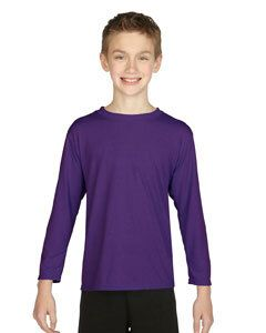 Gildan G424B - Performance Youth 5 oz. Long-Sleeve T-Shirt