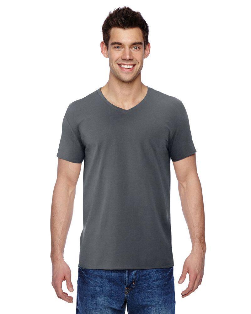 Fruit of the Loom SFVR - 4.7 oz., 100% Sofspun Cotton Jersey V-Neck T-Shirt