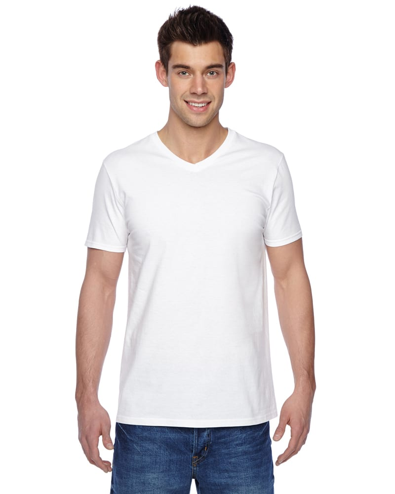 Fruit of the Loom SFVR - 4.7 oz., 100% Sofspun Cotton Jersey V-Neck T-Shirt