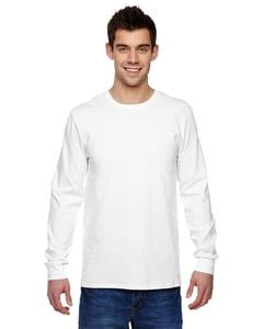 Fruit of the Loom SFLR - T-shirt à manches longues en jersey de coton 100 % Sofspun de 4,7 oz.