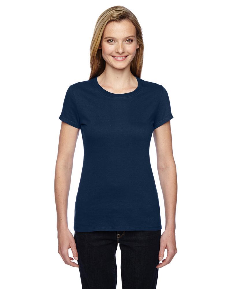 Fruit of the Loom SSFJR - T-shirt ras du cou junior en jersey de coton 100 % Sofspun de 4,7 oz pour femmes