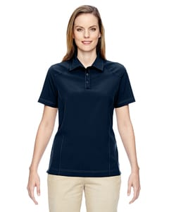 Ash City North End 75120 - Ladies Excursion Crosscheck Woven Polo