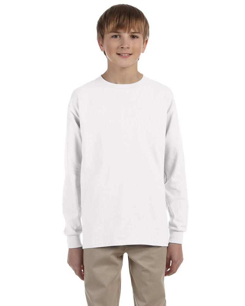 Gildan G240B - T-shirt à manches longues en Ultra Cotton® Youth 6 Oz. T-shirt à manches longues