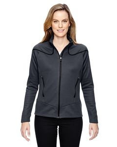 Ash City North End 78806 - Ladies Interactive Cadence Two-Tone Brush Back Jacket