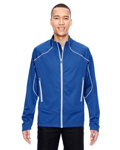 North End Sport Red 88806 - Veste Interactive Cadence bicolore à dos brossé
