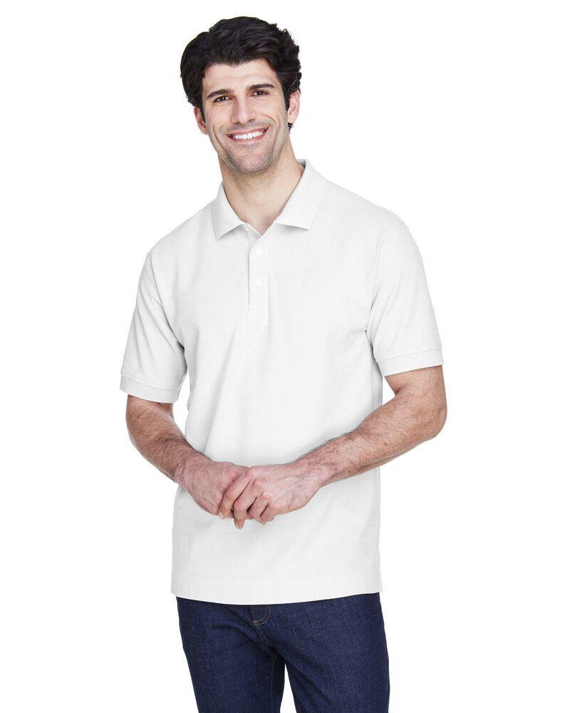 Devon & Jones D100 - Men's Pima Piqué Short-Sleeve Polo