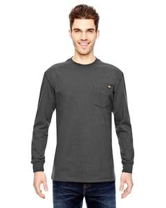 Dickies WL450 - T-shirt à manches longues 6.75 oz. T-Shirt de travail à manches longues, poids lourd