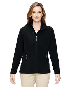 Ash City North End 78215 - Ladies Excursion Trail Fabric-Block Fleece Jacket