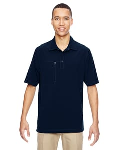 Ash City North End 85120 - Mens Excursion Crosscheck Performance Woven Polo