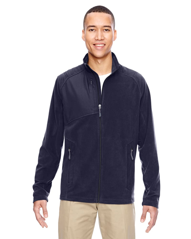 Ash City North End 88215 - Men's Excursion Trail Fabric-Block Fleece Jacket
