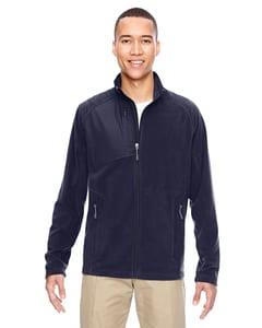Ash City North End 88215 - Mens Excursion Trail Fabric-Block Fleece Jacket