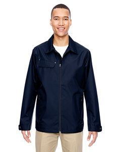 Ash City North End 88218 - Mens Excursion Ambassador Lightweight Jacket with Fold Down Collar