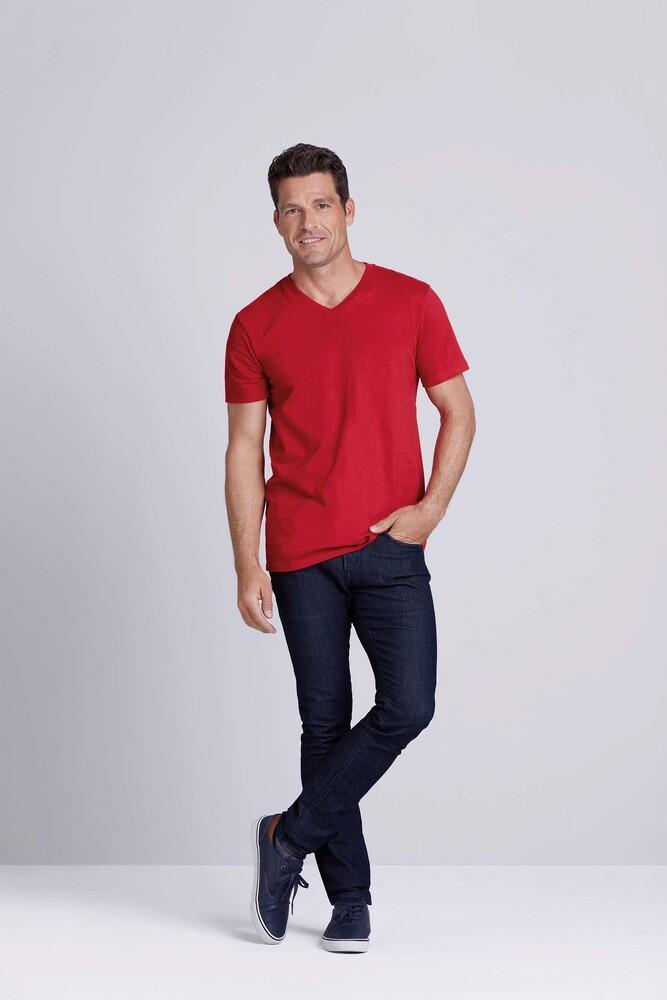 Gildan GI64V00 - T-Shirt Homme Col V 100% Coton