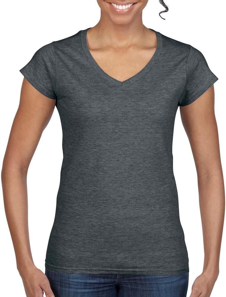 Gildan GI64V00L - Camiseta Softstyle Con Cuello En V Para Mujeres