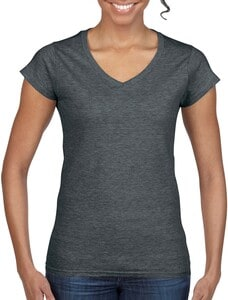 Gildan GI64V00L - Ladies` Softstyle® V-Neck T-Shirt