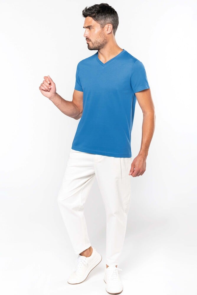 Kariban K357 - MEN'S SHORT SLEEVE V-NECK T-SHIRT