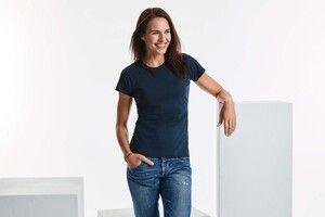 Russell RU165F - Camiseta Polycotton Para Damas