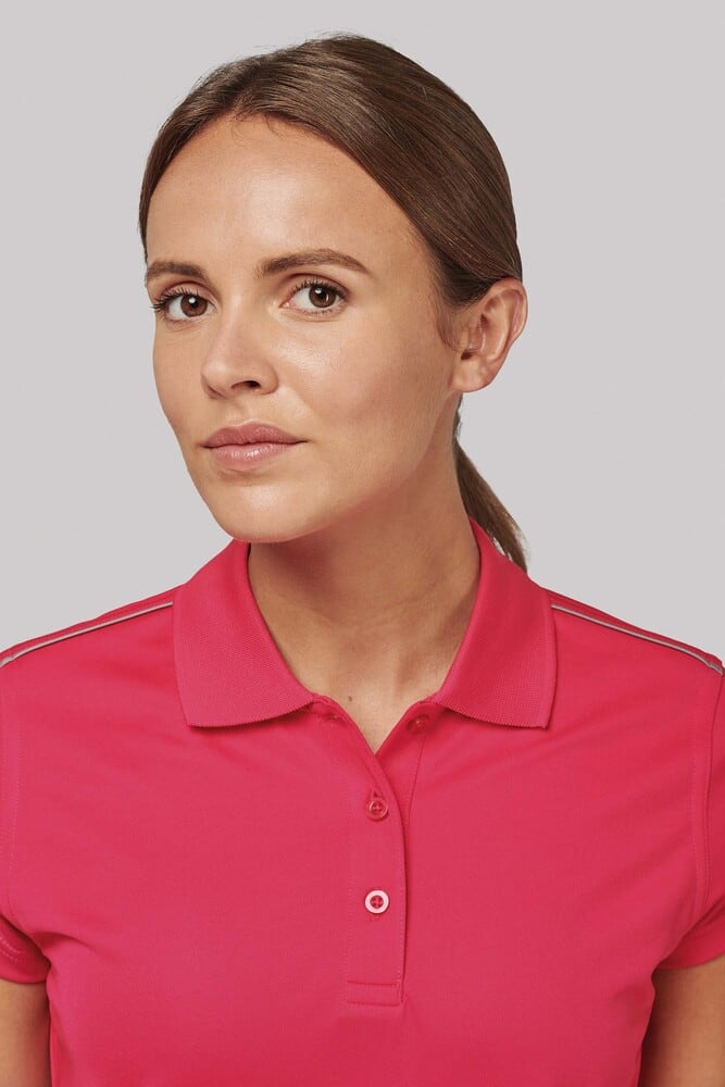 ProAct PA481 - LADIES' SHORT SLEEVE POLO SHIRT