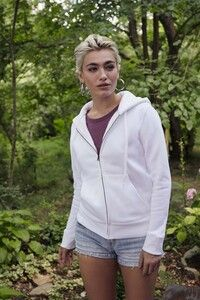 Fruit of the Loom SC62118 - Lady Fit Hoodie Sweatshirt Met Rits (62-118-0)