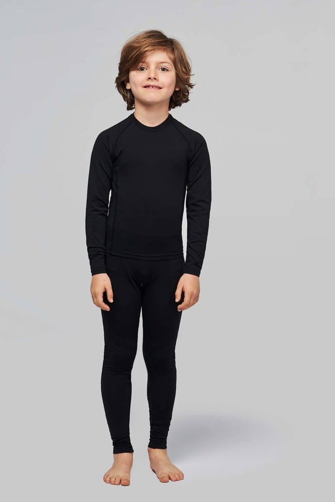 "ProAct PA006 - KIDS' LONG SLEEVE SKIN TIGHT ""QUICK DRY"" T-SHIRT"