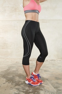 ProAct PA177 - LADIES 3/4 RUNNING PANTS