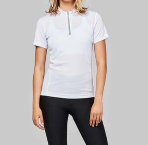 ProAct PA469 - T-SHIRT CYCLISTE MANCHES COURTES FEMME