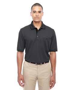 Ash CityCore 365 88222 - Mens Motive Performance Pique Polo with Tipped Collar