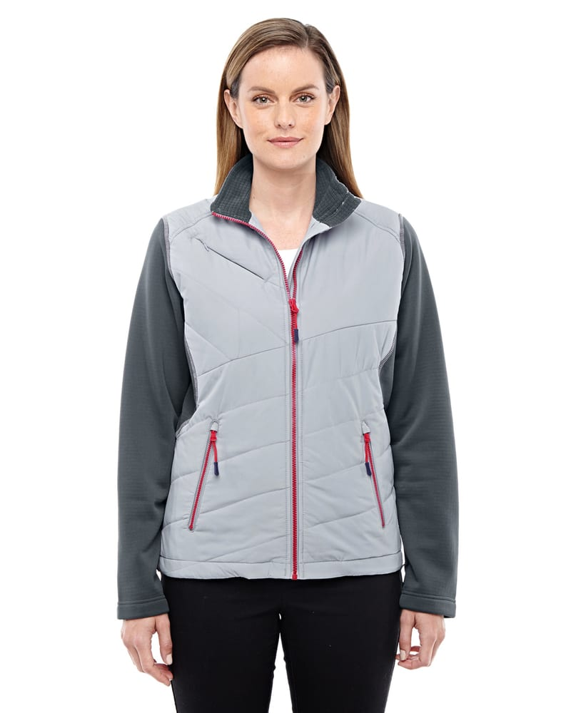 North End Sport Red 78809 - Veste isolée hybride Quantum Interactive pour femmes