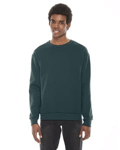 American Apparel F496 - Unisex Flex Fleece Drop Shoulder Pullover Crewneck