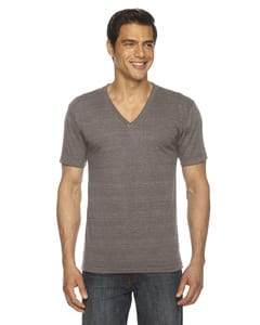 American Apparel TR461 - Unisex Triblend Short-Sleeve V-Neck T-shirt