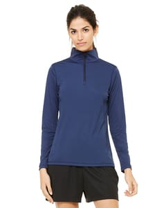 All Sport W3006 - for Team 365 Ladies Quarter-Zip Lightweight Pullover