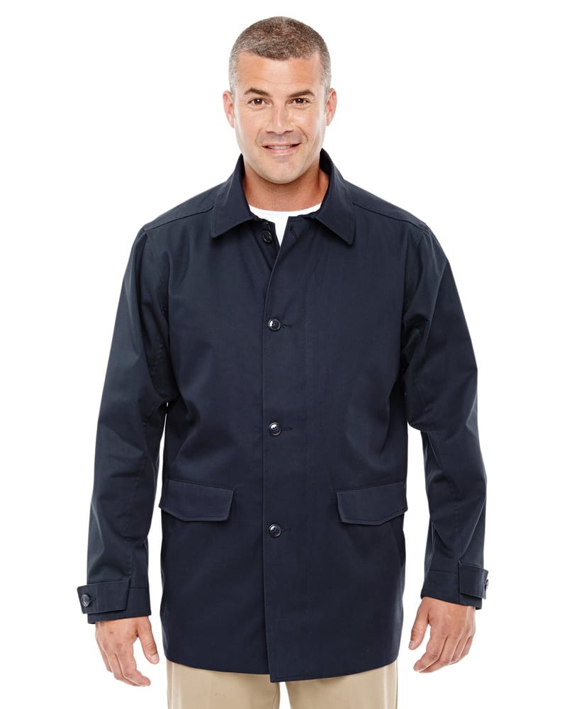 Devon & Jones D982 - Men's Lightweight Basic Trench Jacket