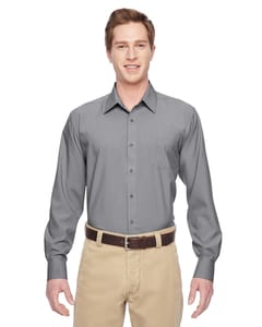 Harriton M610 - Mens Paradise Long-Sleeve Performance Shirt