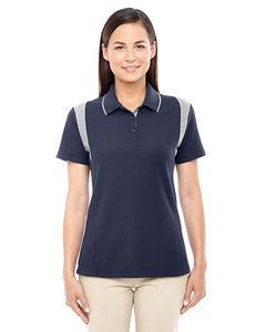 Devon & Jones DG180W - Ladies DRYTEC20™ Performance Colorblock Polo