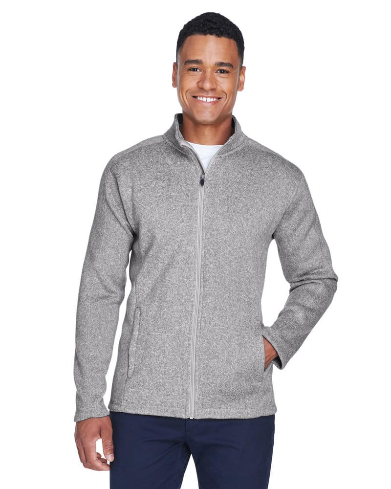 Devon & Jones DG793 - Men's Bristol Full-Zip Sweater Fleece Jacket