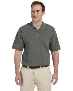 Harriton M265T - Mens Tall Easy Blend Polo