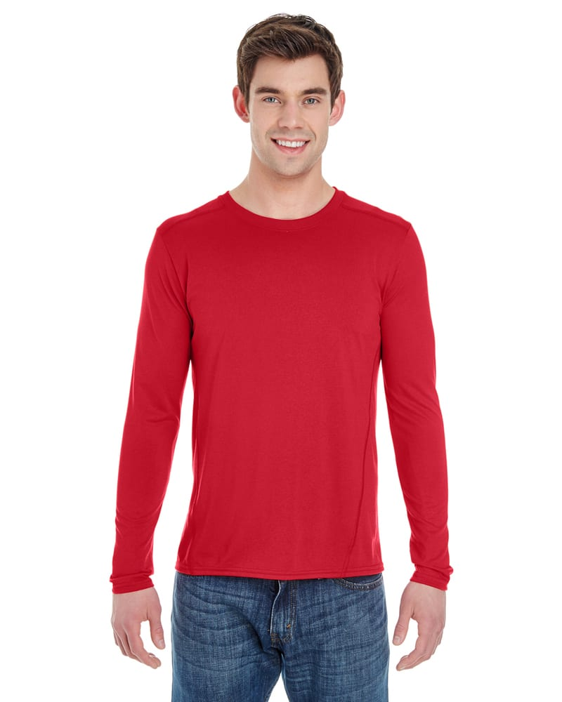 Gildan G474 - Adult Tech Long-Sleeve T-Shirt