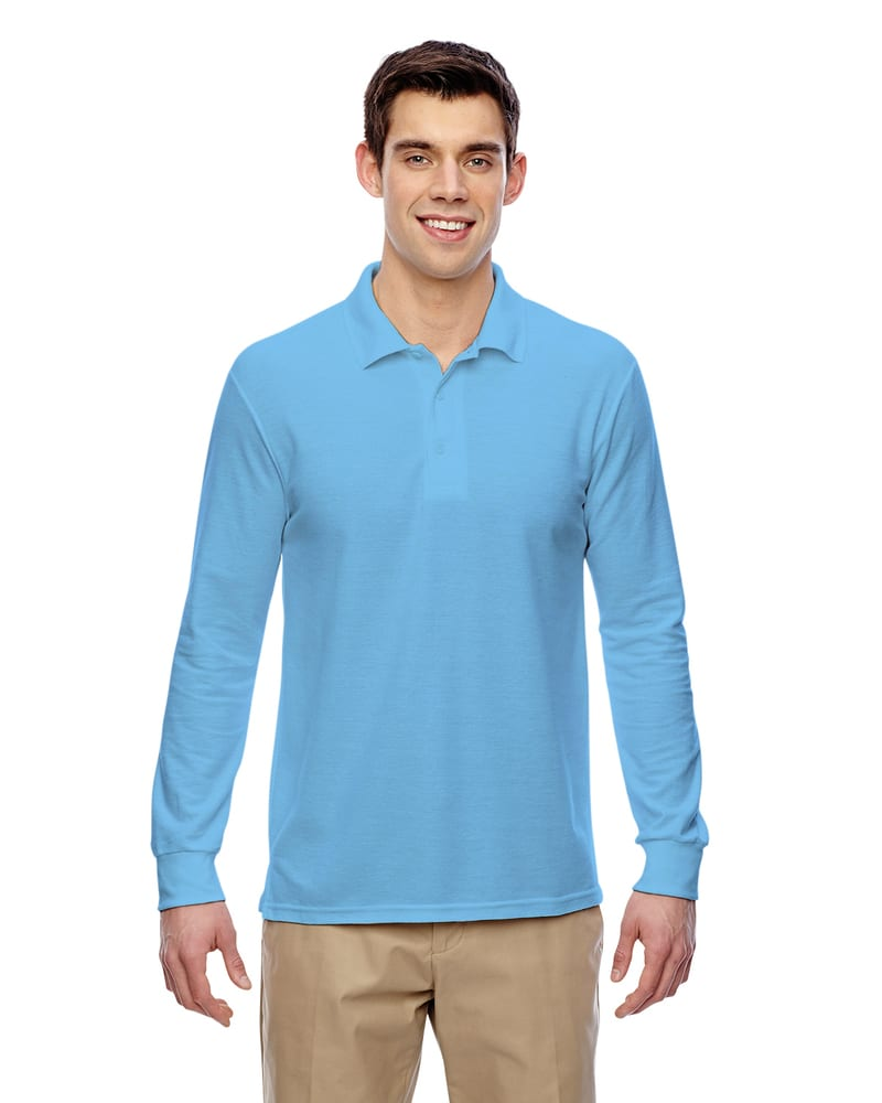 Gildan G729 - Dryblend Double Pique Long-Sleeve Polo
