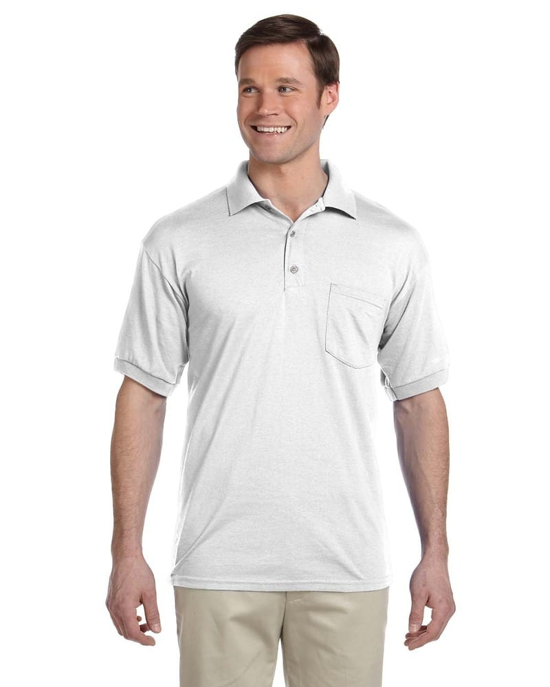 Gildan G890 - Polo en jersey 50/50, 6 oz, Dryblend® avec poche